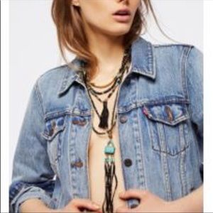 {Free People} Sun Ceremony Layered Necklace